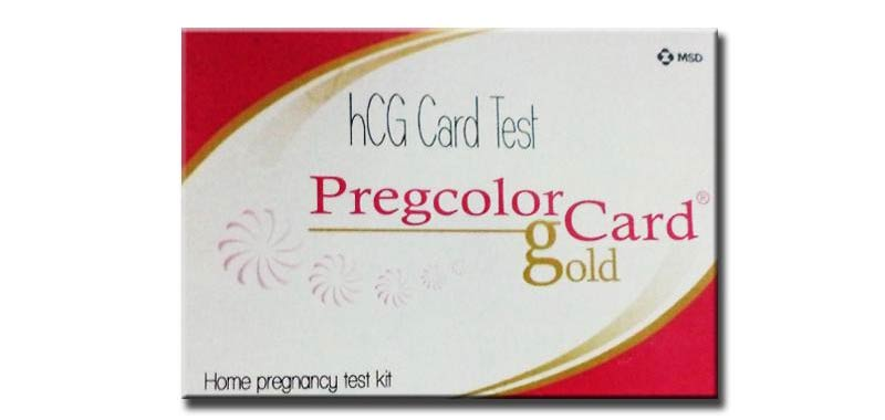 Pregcolor Test Card