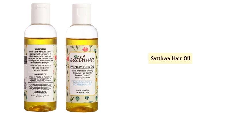Satthwa Hair Oil