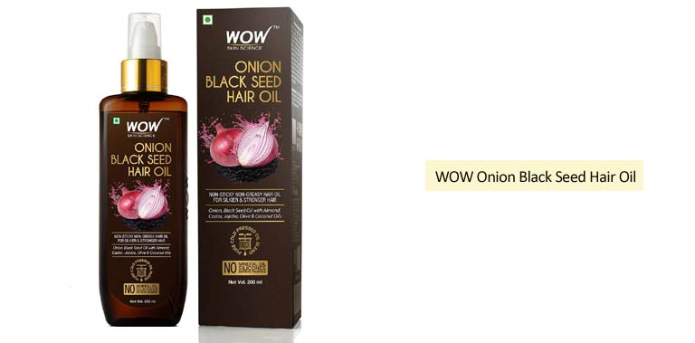 WOW Onion Black Seed Oil