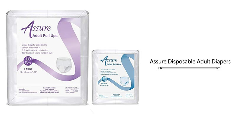 Assure Disposable Adult Pull-Up Diapers