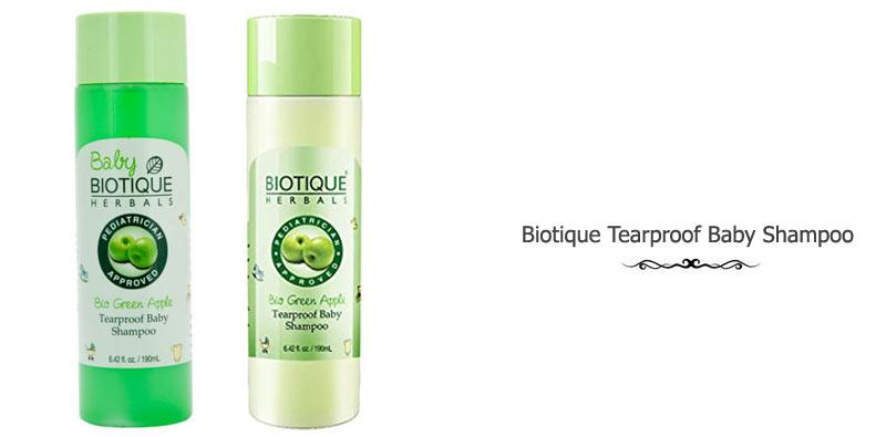 Biotique Tearproof Baby Shampoo