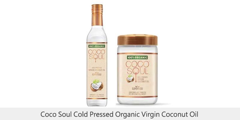 Coco Soul Cold Pressed Organic Virgin Coconut Oil