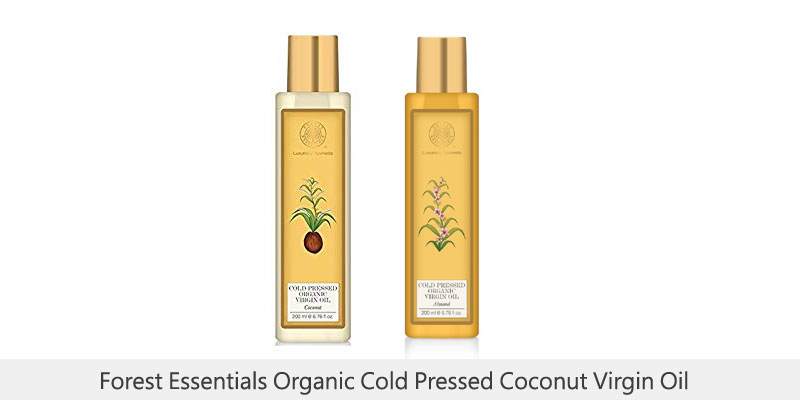 Forest Essentials Organic Cold Pressed Coconut Virgin Oil
