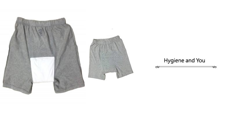 Hygiene and You Mens Reusable Underwear