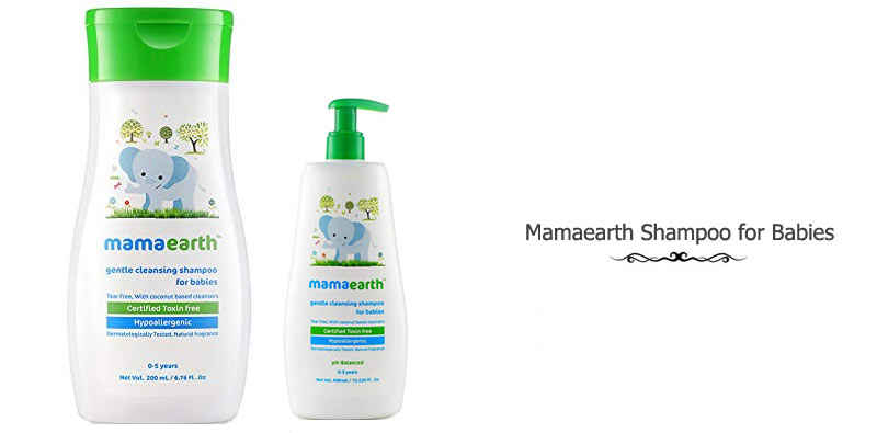 Mamaearth Gentle Cleansing Shampoo