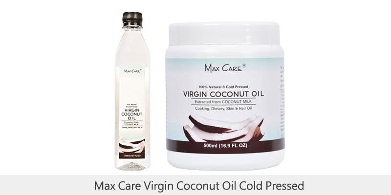 Max Care Virgin Coconut Oil Cold Pressed
