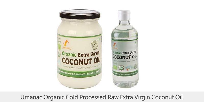 Umanac Organic Cold Processed Raw Extra Virgin Coconut Oil