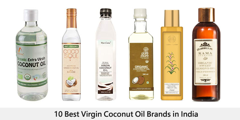 10 Best Virgin Coconut Oil Brands in India for 2019 - Review