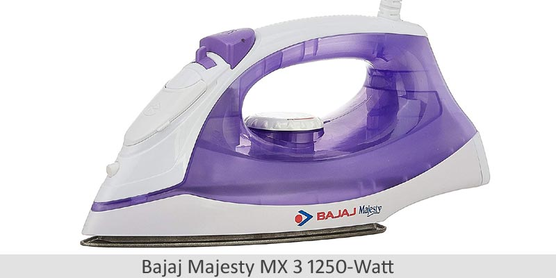 Bajaj Majesty MX 3 Steam Iron