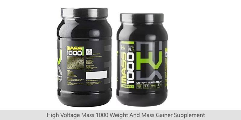 High Voltage Mass Gainer Supplements