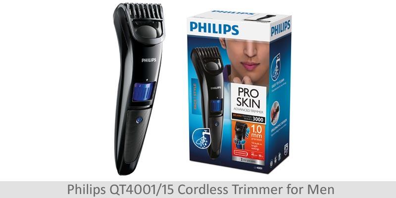Philips Beard Trimmer Cordless for Men