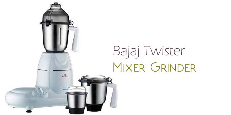 Bajaj Twister 750-Watt Mixer Grinder