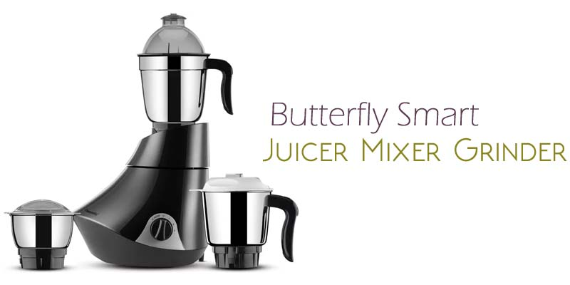 Butterfly Smart 750-Watt Juicer Mixer Grinder