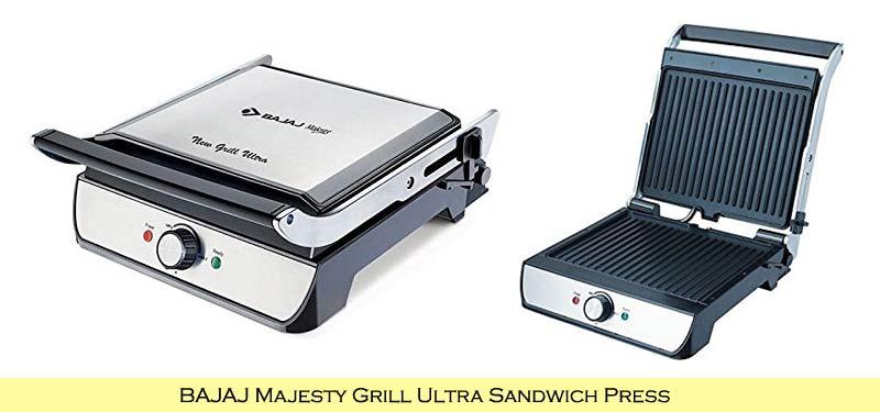 BAJAJ Majesty Grill Ultra Sandwich Press