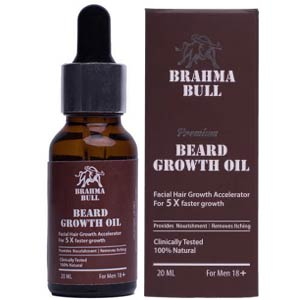 Brahma Bull Beard Growth Oil