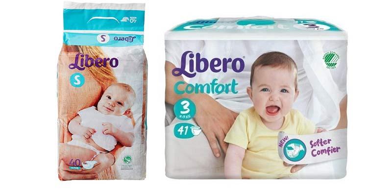 Libero Comfort Baby Diapers