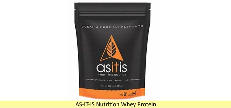 AS IT IS Nutrition Whey Protein