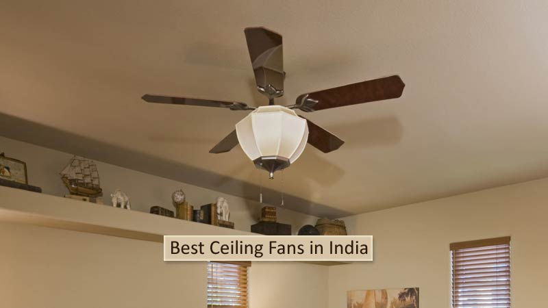 Stupendous 10 Best Ceiling Fans In India For 2019 Prices Review Guide Home Interior And Landscaping Staixmapetitesourisinfo