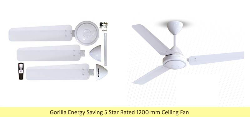 Gorilla Energy Saving Fan