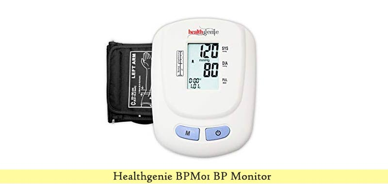Healthgenie BPM01W BP Monitor
