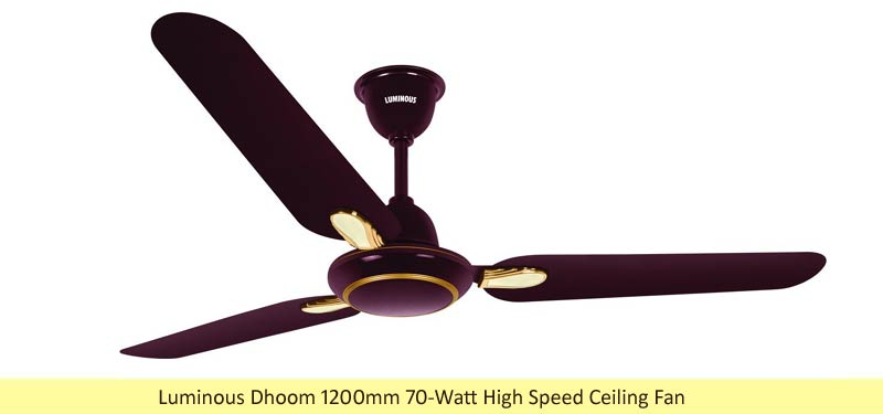 Luminous Dhoom Ceiling Fan