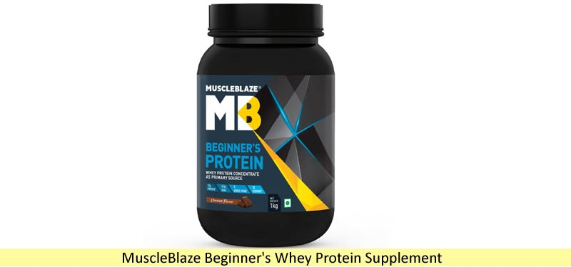 MuscleBlaze Beginner Whey Protein