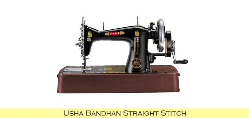 Usha Bandhan Straight Stitch
