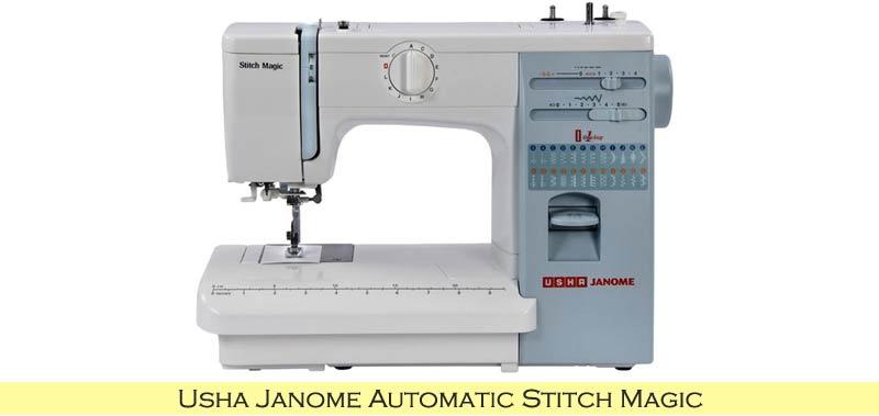 Usha Janome Automatic Stitch Magic