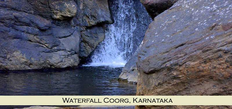 Waterfall Coorg Karnataka