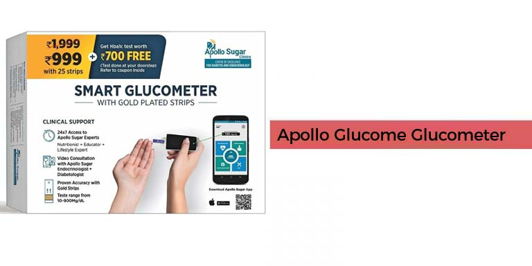 Apollo Glucome Glucometer