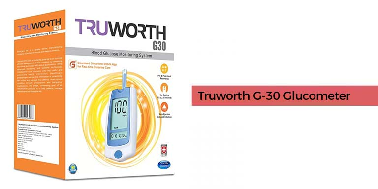 Truworth G-30 Glucometer