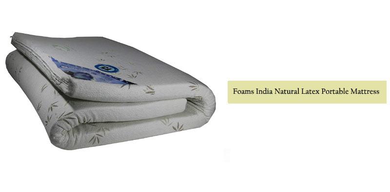 Foams India Latex Mattress