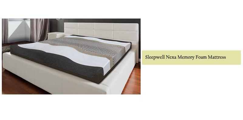 Sleepwell Nexa Memory Foam Mattress