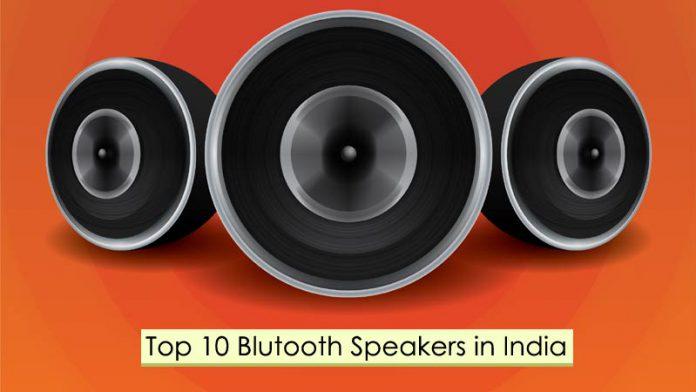 bluetooth speakers India