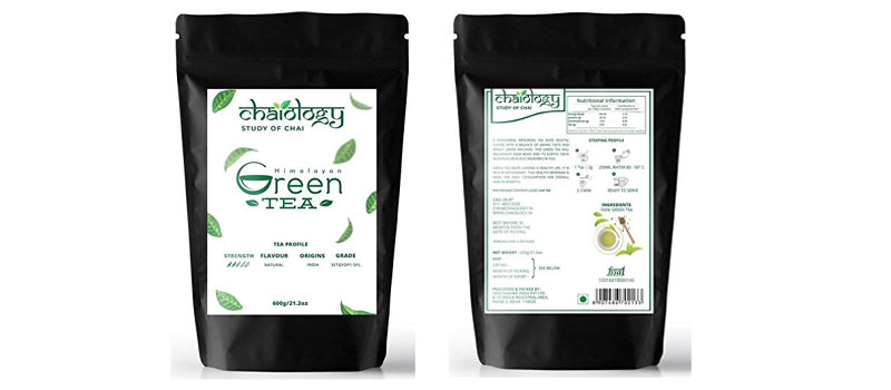 Chaiology Leaf Green Tea