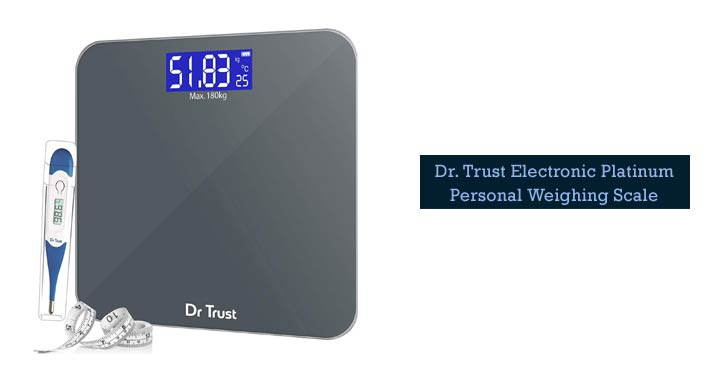 Dr. Trust Digital Weighing Scale