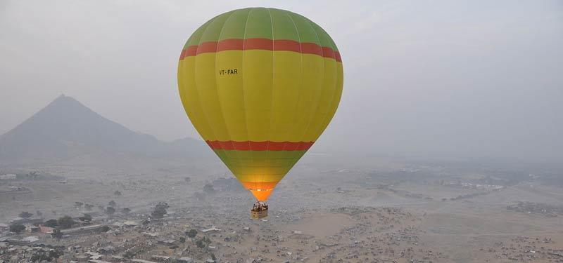 Rajasthan Hot air ballooning