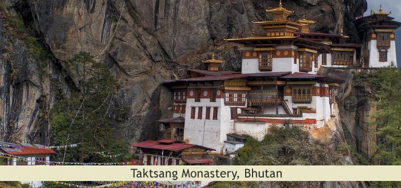 Taktsang Monastery Bhutan