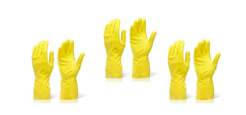 DeoDap Rubber Hand gloves