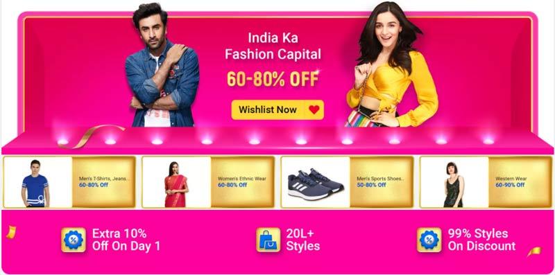 Fashion Sale Flipkart