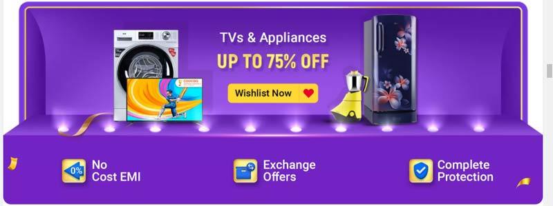 Home Appliances TVs