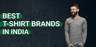 Best t-shirt brands in India for Men