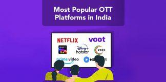 Most Popular OTT Platforms