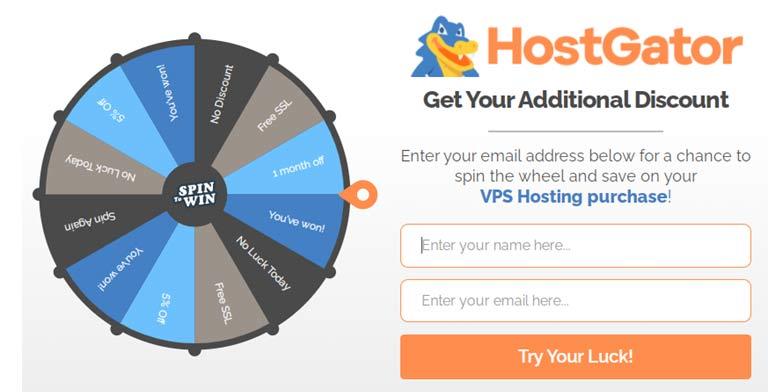Additional Discount Hostgator