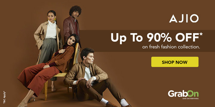 Ajio Coupons Deals About