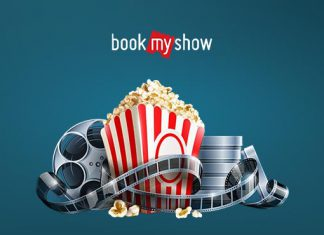 Booking ticket on BookMyShow