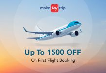 MakeMyTrip Flight Ticket Booking