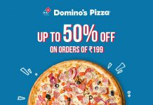 Dominos Pizza Offers