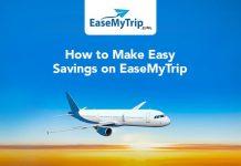 Savings on EaseMyTrip