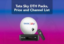 ata Sky DTH Packs, Price and Channel List